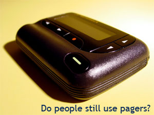 do people still use pagers