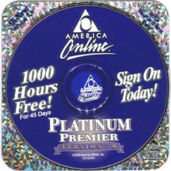 AOL Free Trial CDs